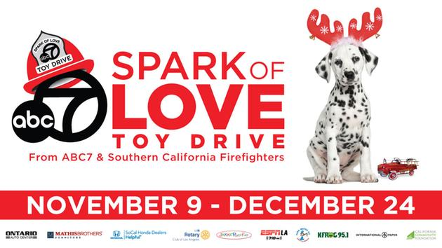 Spark of Love Toy Drive Flyer
