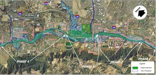 Murrieta Creek Project Map