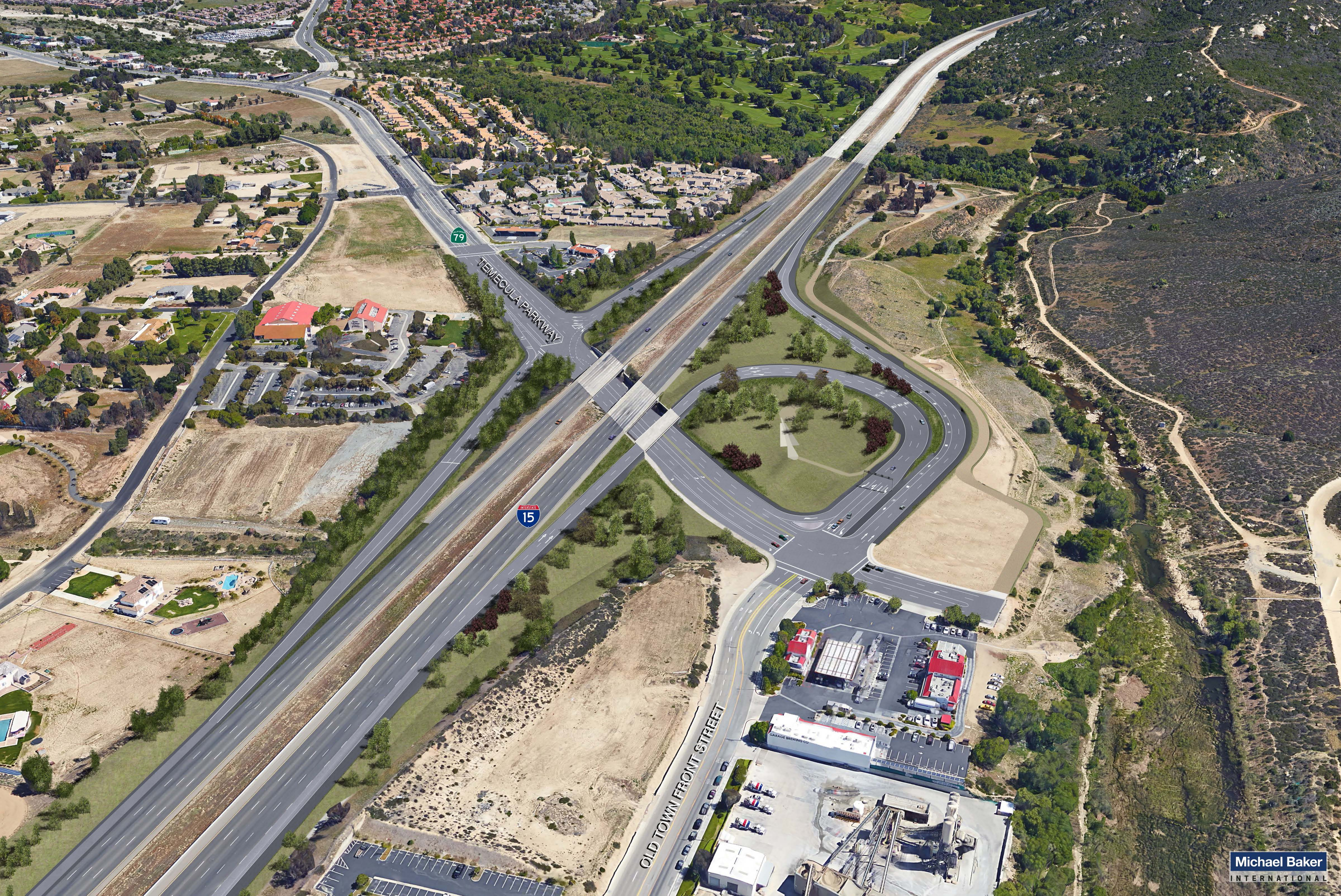 Interstate 15/State Route 79 South Ultimate Interchange