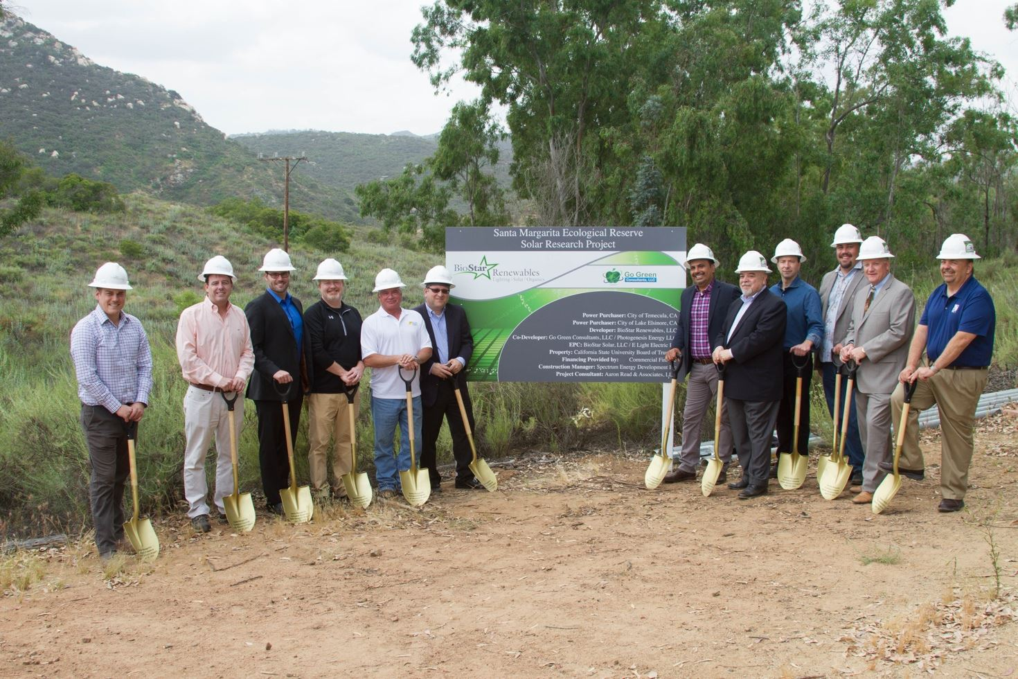 Santa Margarita Ecological Reserve Solar Research Project