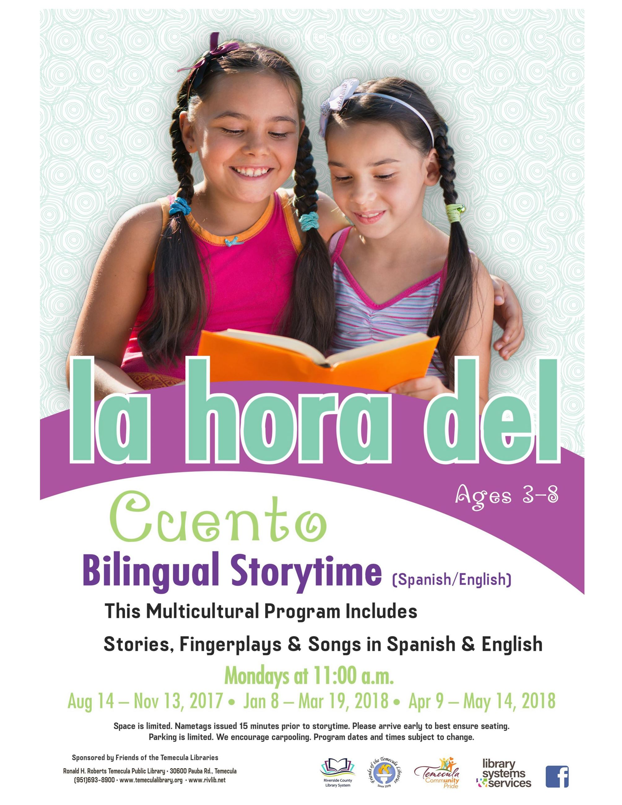Bilingual Storytime 2017-2018