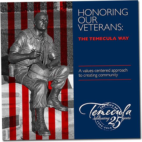 Honoring Our Veterans The Temecula Way Brochure