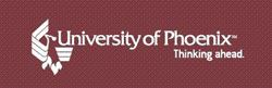University of Phoenix. Thinking ahead.
