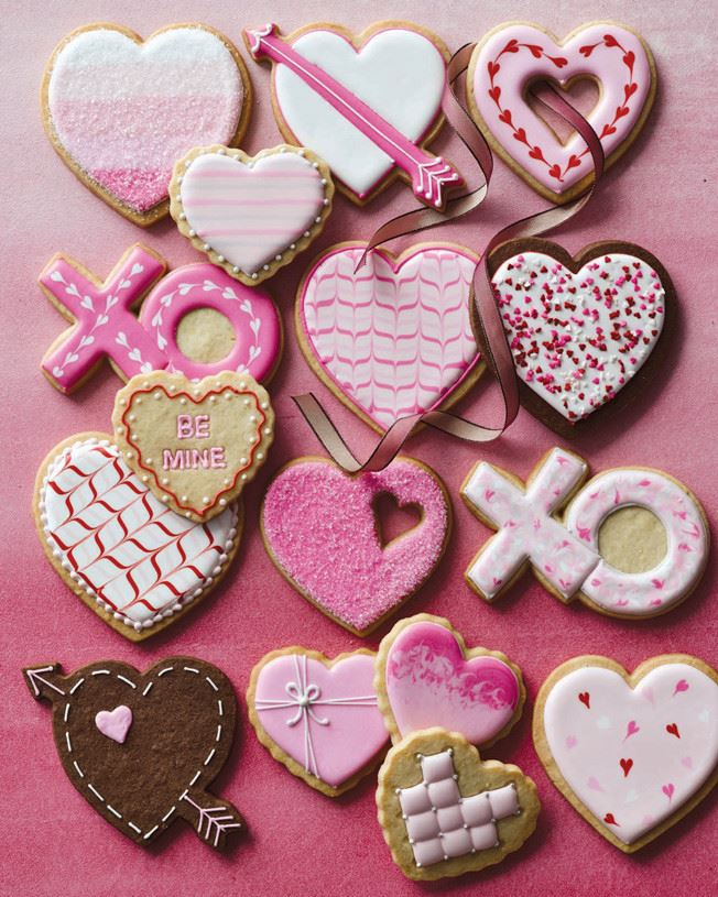Valentine Cookie Decorating