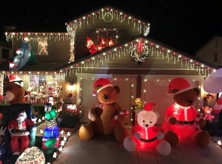 christmas home lights