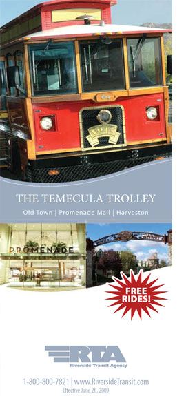 Temecula Trolley Flyer