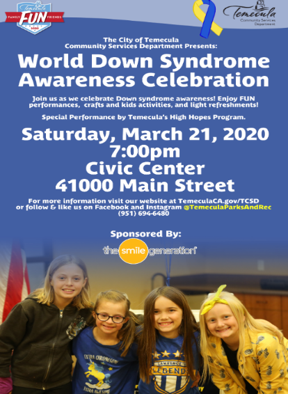 World Down Syndrome Awareness