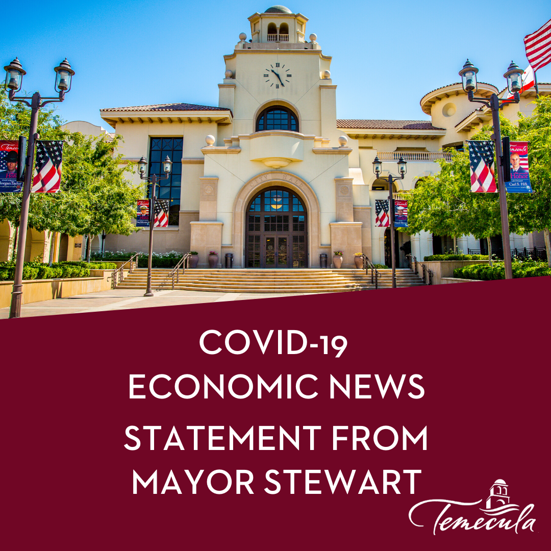 Economic News Message from Mayor
