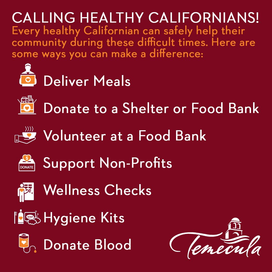 How Healthy Californians can help