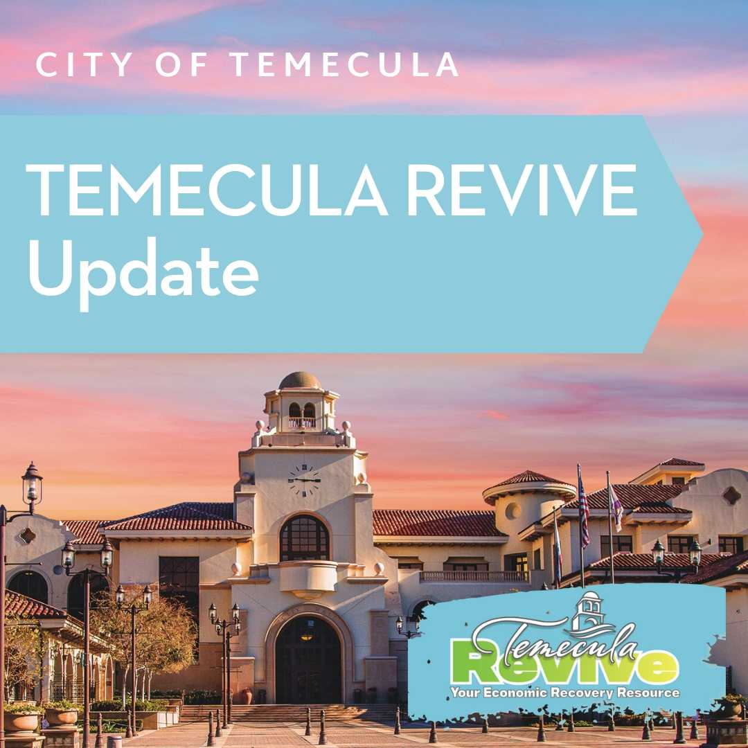Temecula Revive Updates