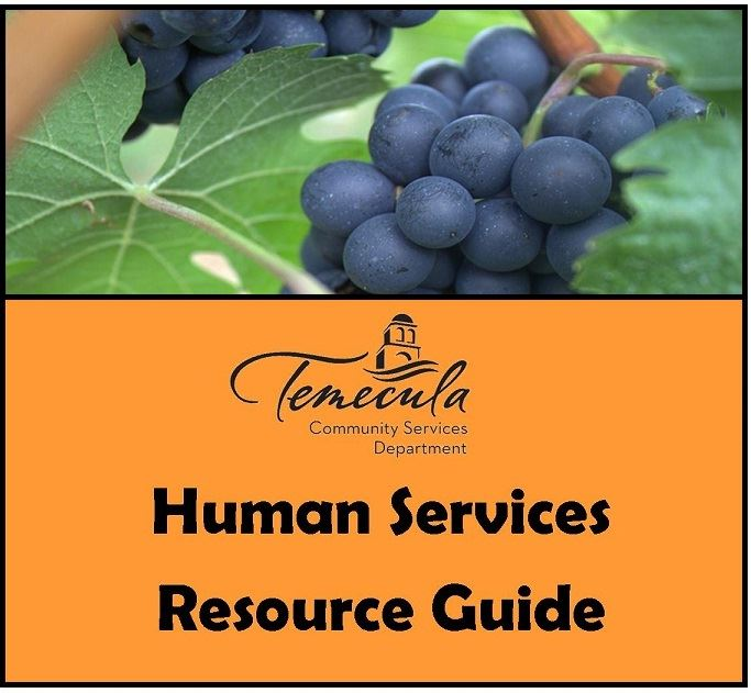 Temecula Community Services Department Human Services Resource Guide