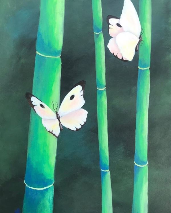 Butterflies and Bamboo