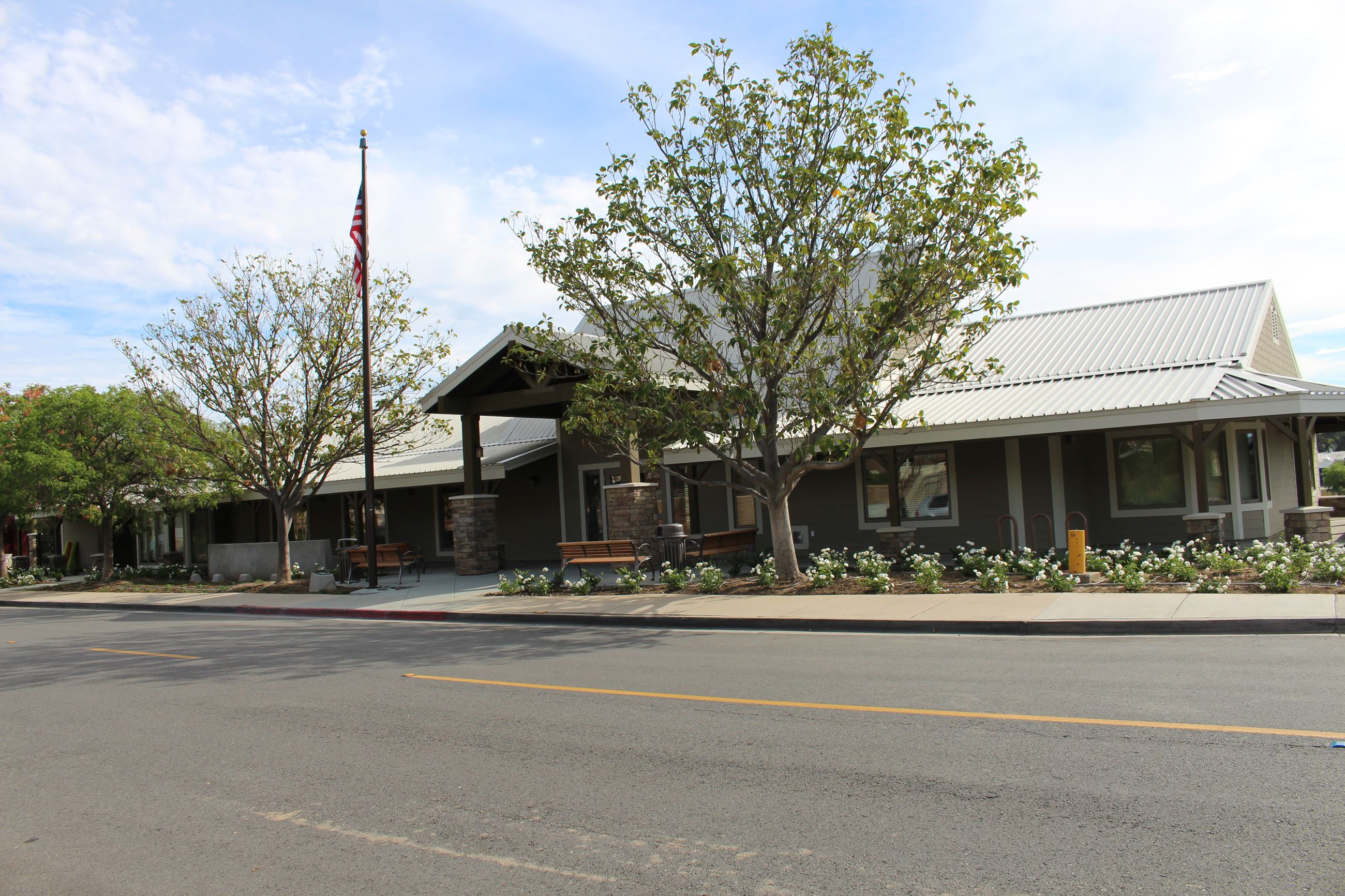 Front of Temecula Community Center